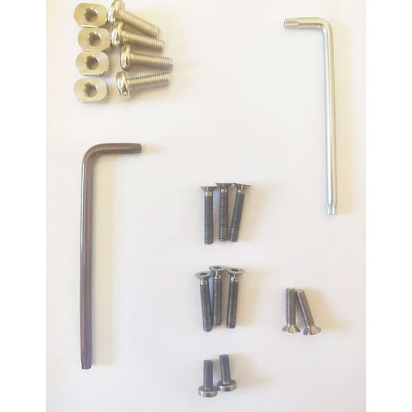 Airush Hydrofoil Complete bolt and screw set