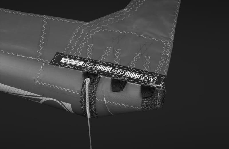 019 Airush Kite Tech Rear Line Adjustment 800x520